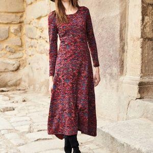 NWT Peruvian Connection Cotton Print Maxi Dress-M